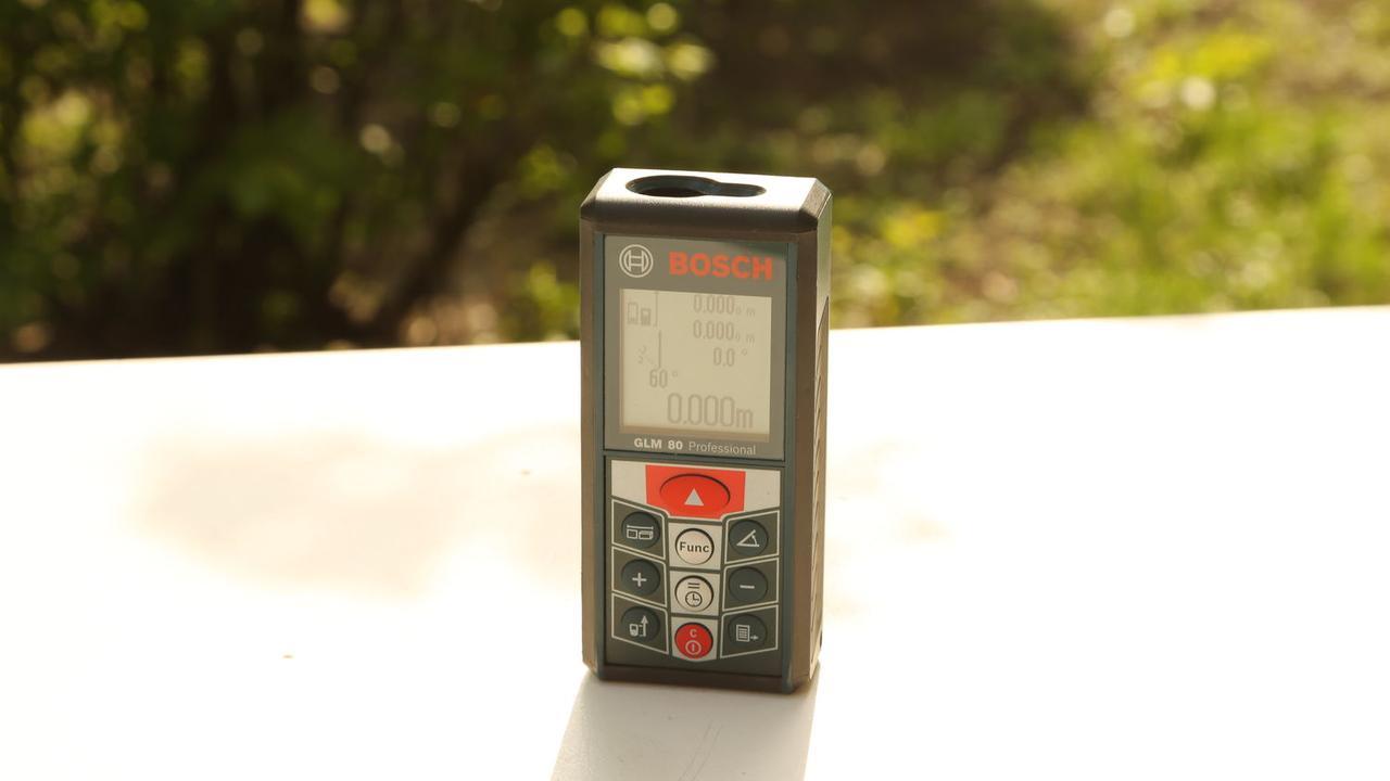 Дальномер лазерный Bosch GLM 80 (0601072300)