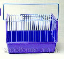 Клетка переноска для птиц пластиковая