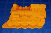 """Форма силиконовая для выпечки """"Паровоз"""" 320*195*75 (код 00374)"""