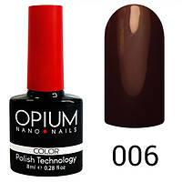 Гель-лак Opium №006, 8 мл