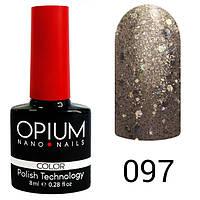 Гель-лак Opium №097, 8 мл