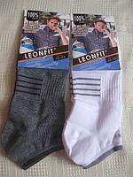 Шкарпетки чоловічі, літні - короткі, бавовна 100%, розміри 39-42, 43-46, фото 1