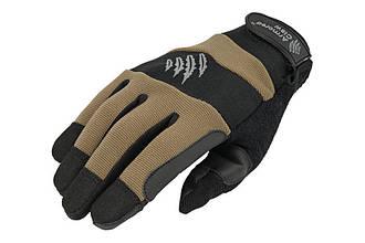 Тактичні рукавиці Armored Claw Accuracy Half Tan Size XL