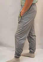 Брюки спортивные мужские трикотажные под манжет - карманы на молнии, фото 3