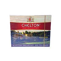 """Chelton """"Шотландский завтрак"""", черный чай в пакетиках, 100 х 1,5г"""