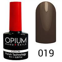 Гель-лак Opium №019, 8 мл