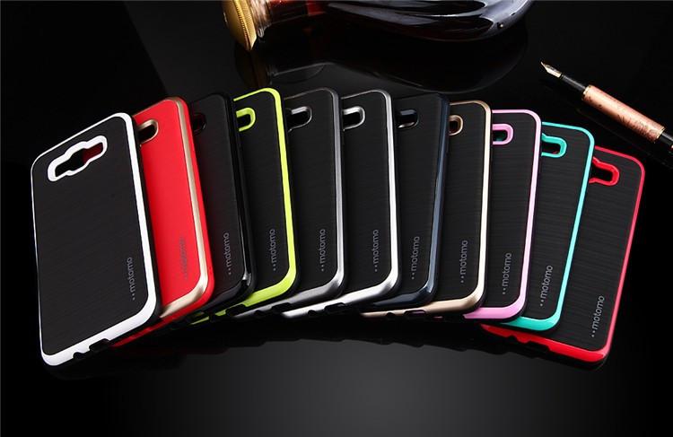 Чехол Motomo slim line для Samsung Galaxy J710 \ black