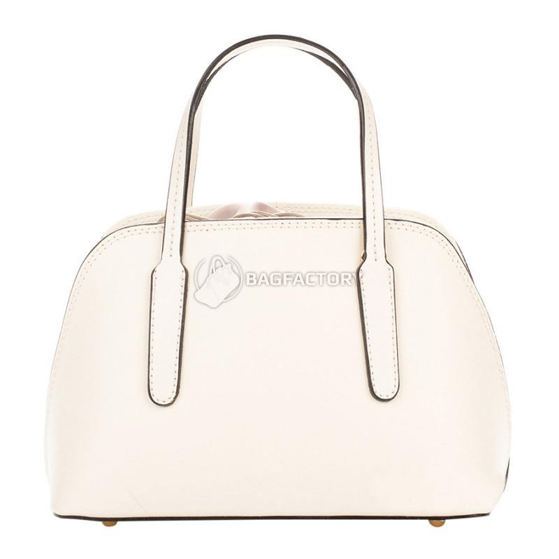 67bcc070de45 Женская кожаная сумка Italian Bags Молочный (8672_milk) - Интернет-магазин  брендовых сумок,