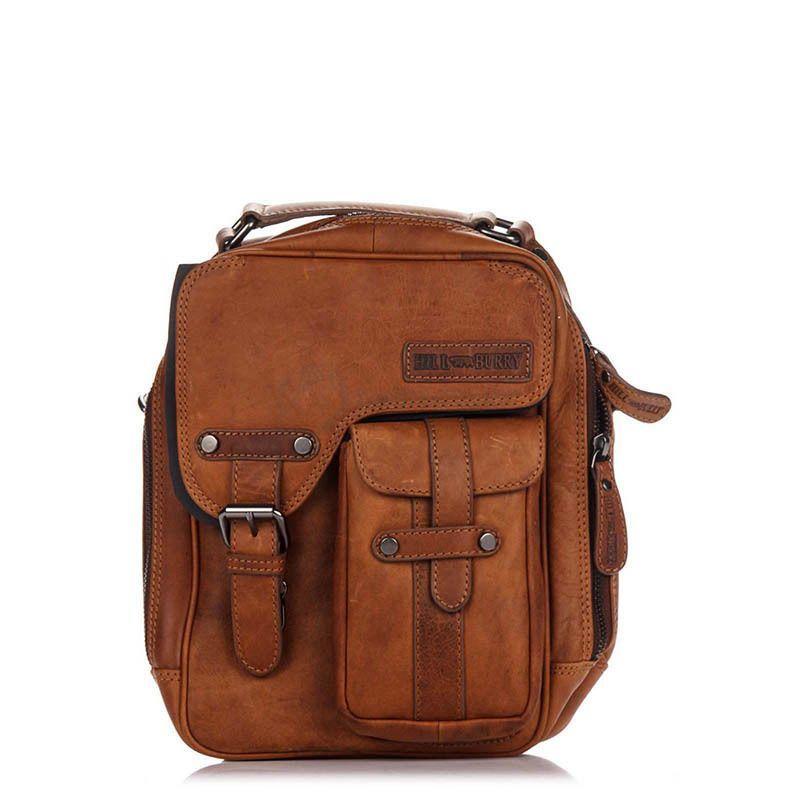 411bbeeba637 Мужская кожаная сумка HILL BURRY Коричневый (3060_brown) - Интернет-магазин  брендовых сумок,