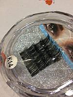 Магнитные накладные ресницы Lilly Beauty К- 14, фото 1