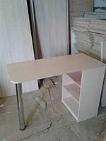 Маникюрный раскладной стол Эконом без полки