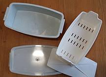 Емкость контейнер для дезинфекции инструментов (большой)