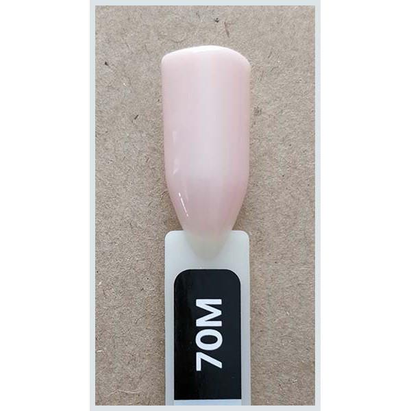 Гель лак Kodi № 70 M 8 мл. Светлый бежево-розовый.