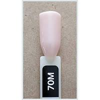 Гель лак Kodi № 70 M 8 мл. Светлый бежево-розовый., фото 1