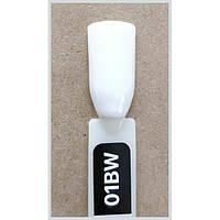 Гель лак Kodi № 01 bw 8 мл. Ярко-белый.