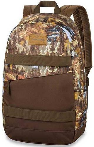 Мужской рюкзак для города Dakine Manual 20L Paradise 610934865622 коричневый