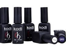 Набор гель лаков Kodi 5 шт +1 шт в подарок