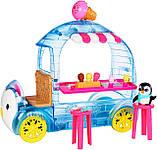 Enchantimals Игровой набор Фургончик мороженого Прины Пингвины, фото 4