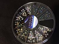 Камни для декор Капли в банке карусельке (микс), фото 1