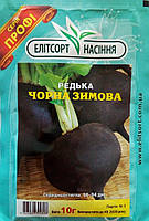 """Семена редьки черной зимней, среднеспелый 10 г, """"Елiтсортнасiння"""", Украина"""