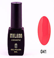 Гель лак MILANO 041, 8 мл