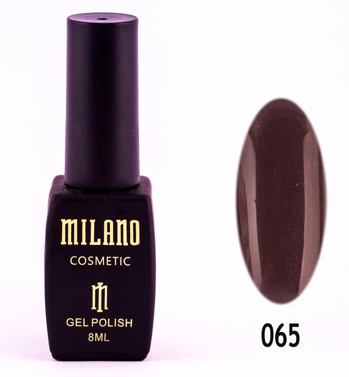 Гель лак MILANO 065, 8 мл