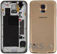 Корпус Samsung SM-G900F Galaxy S5 Gold