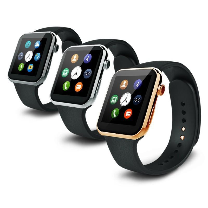 Часы Smart Watch A9 Gsm/Bluetooth/динамик, цветной экран black/ black-