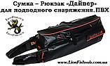 Герметичная Сумка LionFish.sub «Дайвер» Рюкзак для Подводной Охоты, фото 2