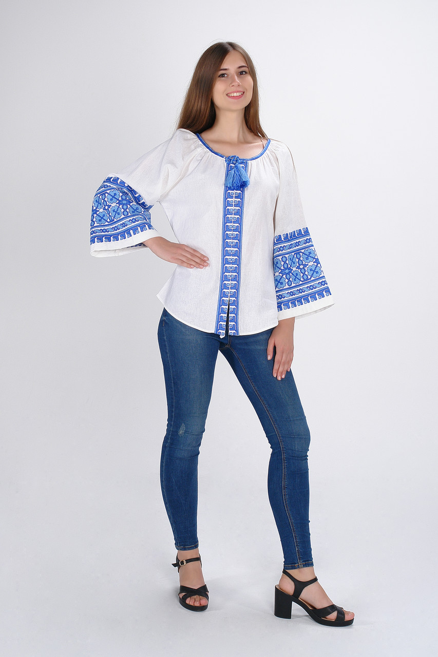 "Блуза жіноча ""Квіти Карпат"", фото 1"