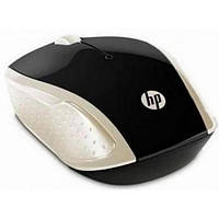 Мышка беспроводная HP Wireless Mouse 200 Silk Gold (2HU83AA)
