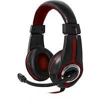 Навушники накладні провідні з мікрофоном Defender Warhead G-185 64106)