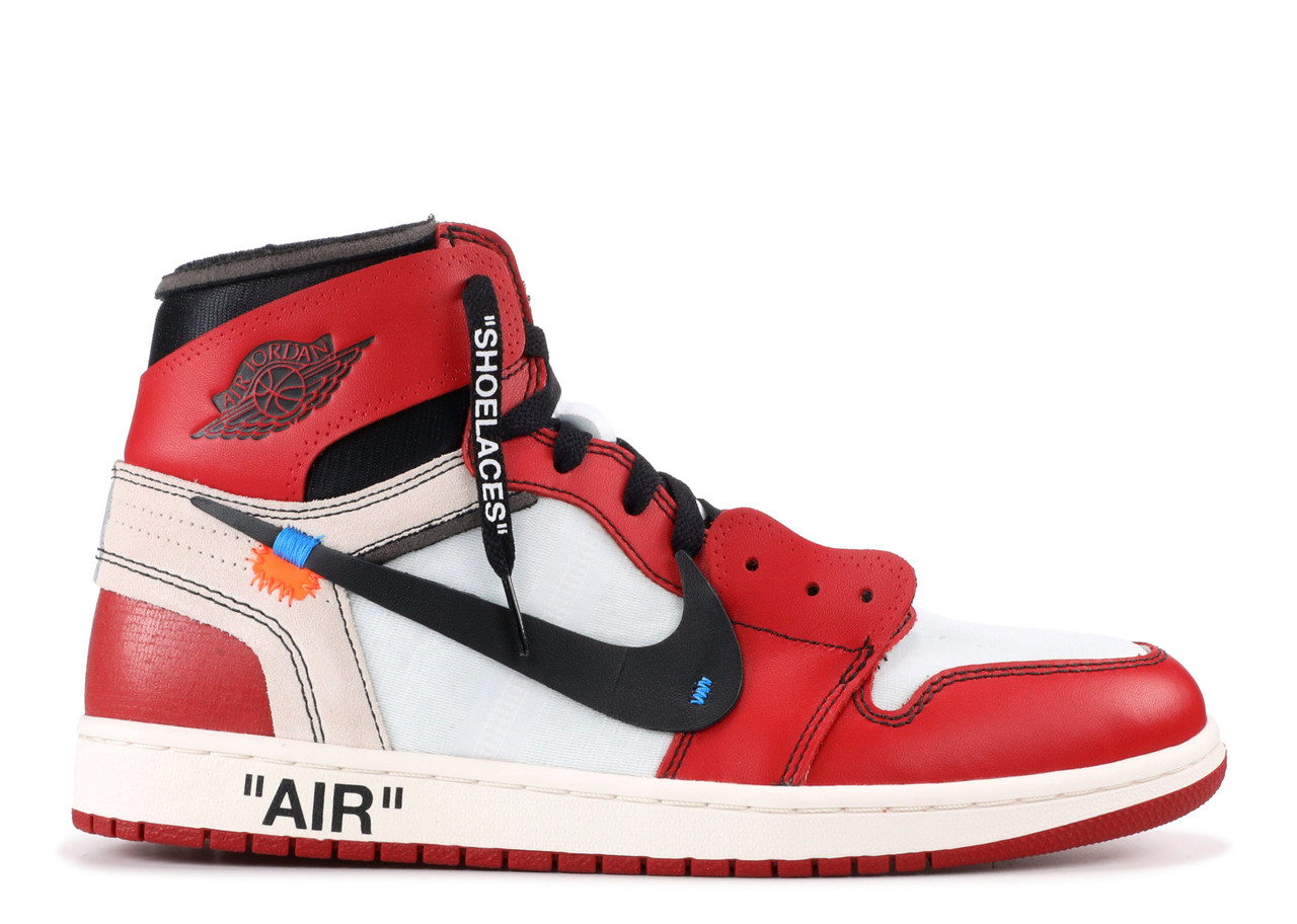 328816f178e4 Баскетбольные кроссовки Nike Air Jordan 1 Off White - Интернет магазин  обуви «im-РоLLi
