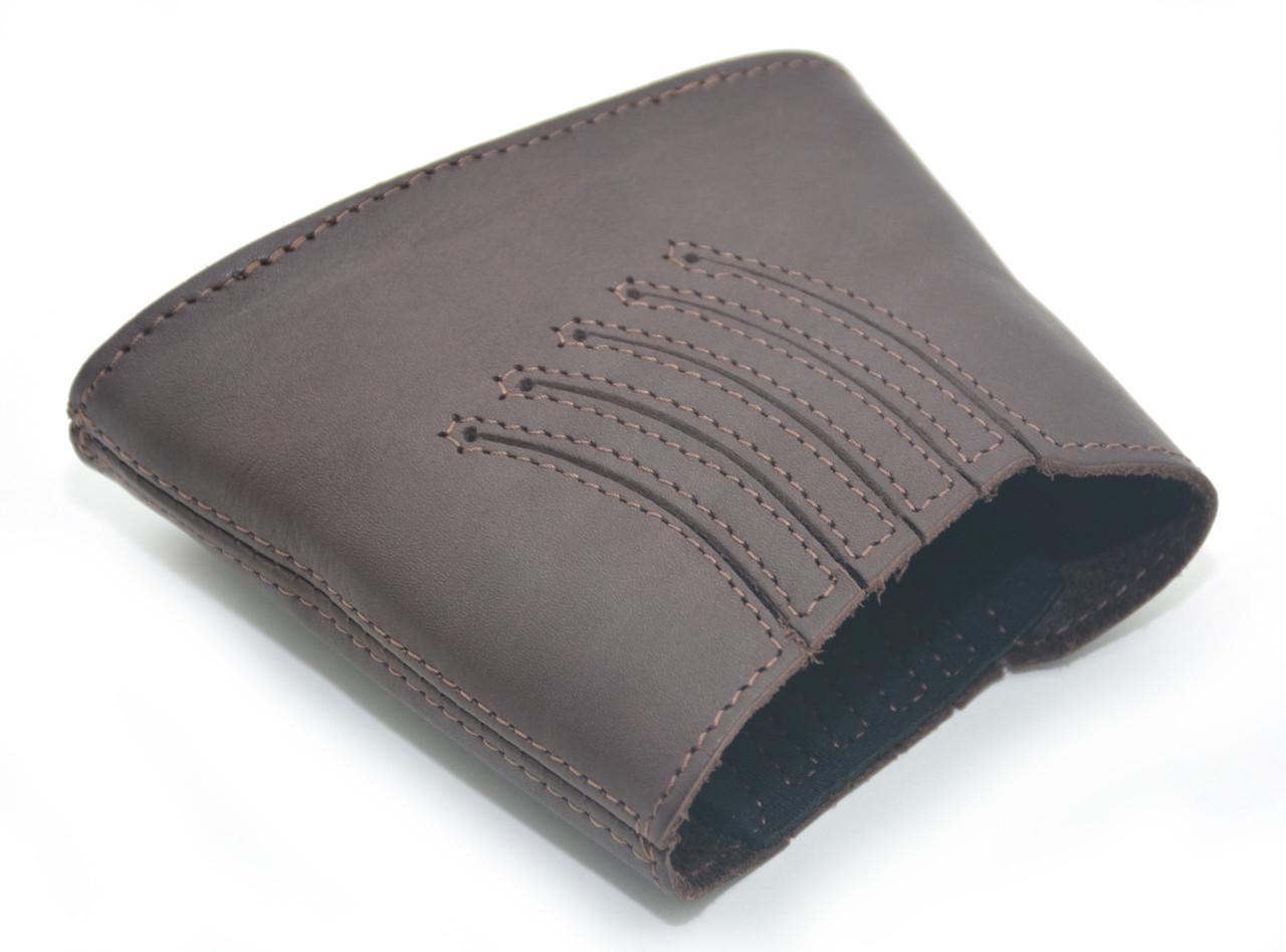 Тыльник на приклад кожа гидрофобная коричневый 50250/2