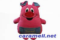 Подушка игрушка Поросенок свинка Наф Символ 2019 года, фото 1