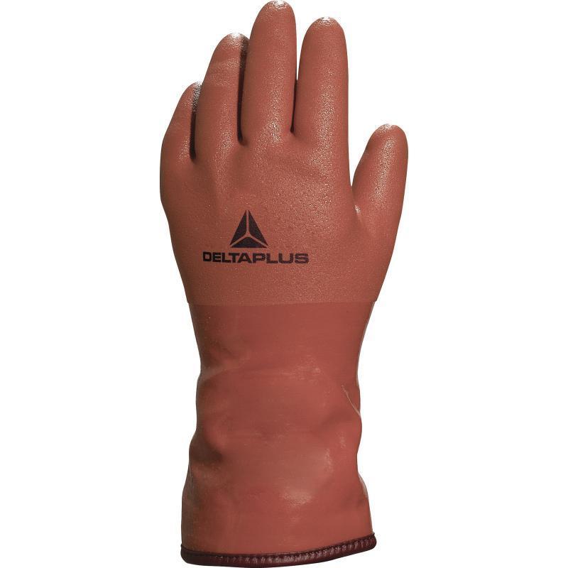 Перчатки ПВХ утепленные PETRO VE760