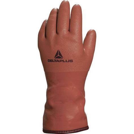 Перчатки ПВХ утепленные PETRO VE760, фото 2