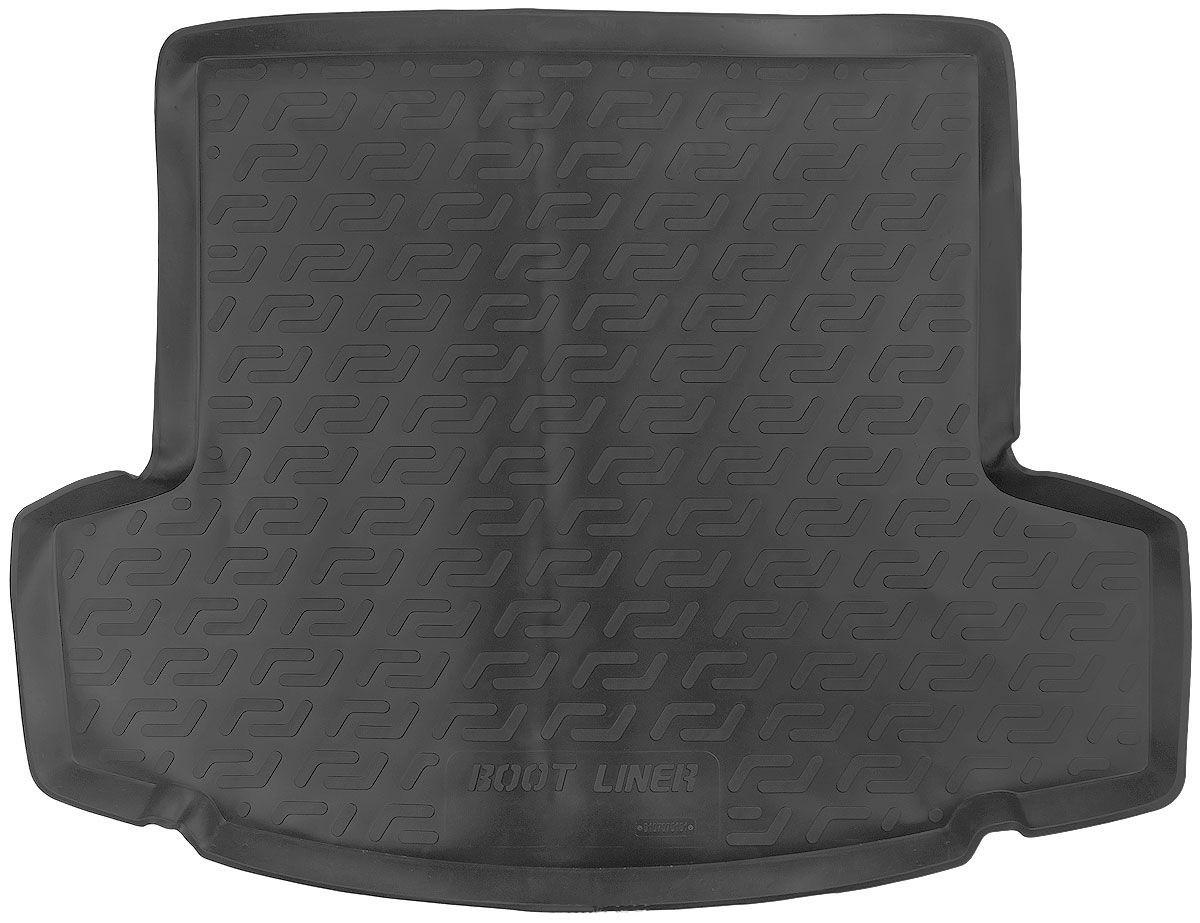 Коврик в багажник для Chevrolet Captiva (06-) полиуретановый 107070101