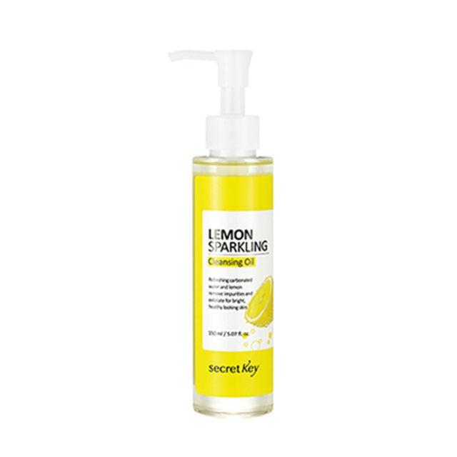 Гидрофильное масло с эффектом осветления Secret Key Lemon Sparkling Cleansing Oil - 150 мл
