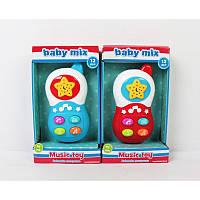 BABY MIX Муз. телефон в коробке