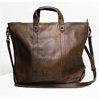 Женская кожаная сумка Grays вместительная и удобная, фото 1
