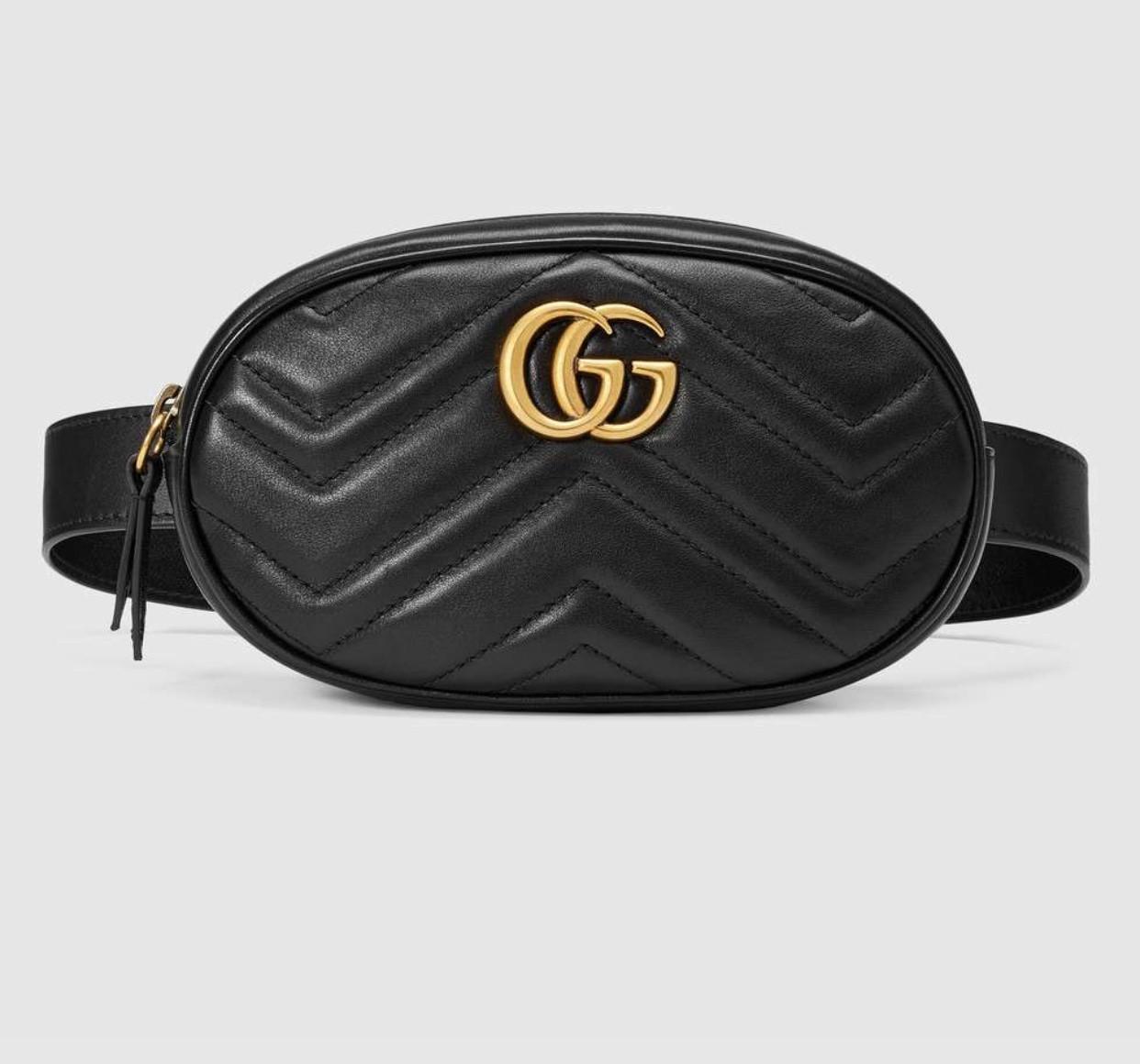 2d5ab0bdd999 Сумка Gucci Marmont на Пояс Копия — в Категории