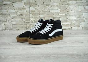 Кеды Vans SK-8 Black White Gum