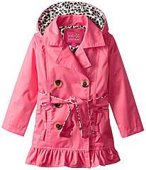 Демисезонный непромокаемый плащ с капюшоном (Размер 6Т) Pink Platinum (США)