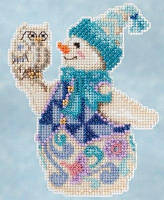 Snowy Owl Snowman by Jim Shore (2015)