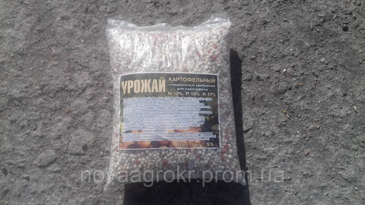 Урожай картофельный минеральное, универсальное удобрение