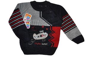 Пуловер для мальчика (1-2 года)Детская одежда оптом.
