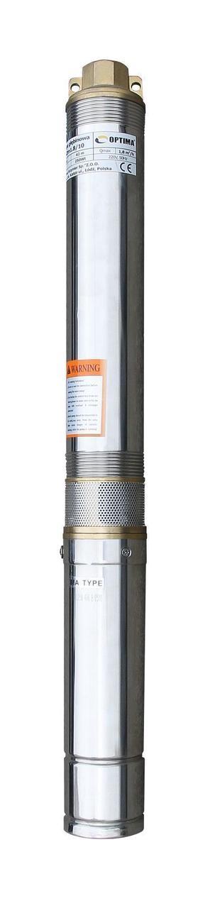 """Насос скважинный 3"""" OPTIMA 3SDm1.8/39 1.1 кВт 159м + пульт+кабель 15м NEW"""