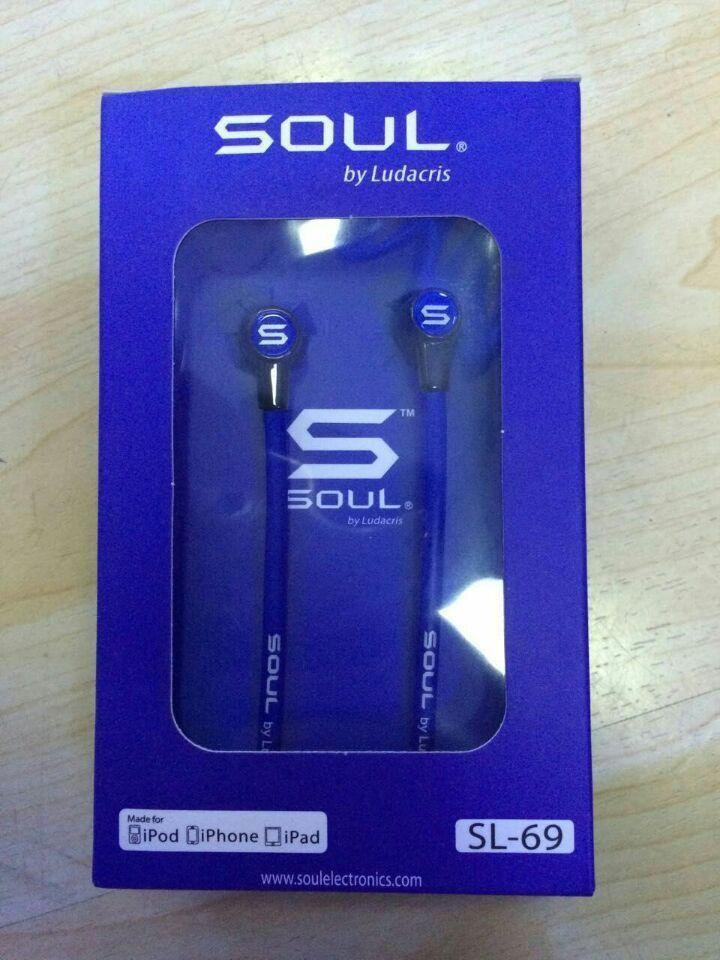Наушники Soul SL-69 Blue