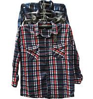 Рубашки мужские с длинным рукавом, микс (р.р. 50-58), 5 шт.